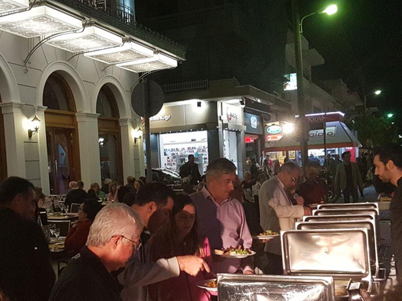 Σπάρτη Ανοιχτή Πόλη οι καλεσμένοι στο ξενοδοχείο Μενελάιον στη Σπάρτη