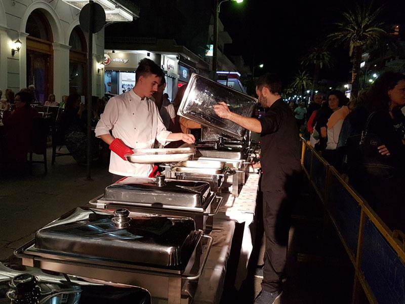 Σπάρτη Ανοιχτή Πόλη οι ετοιμασίες από τον σεφ του ξενοδοχείου Μενελάιον στη σπάρτη
