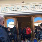 ο Ολυμπιακός στη Σπάρτη στο ξενοδοχείο Μενελάιον πριν τον αγώνα