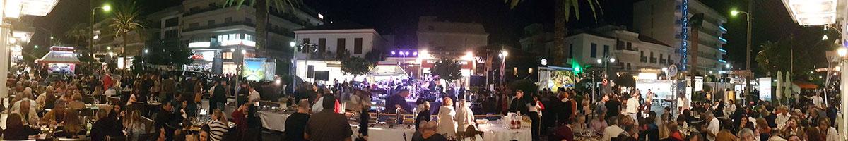 Σπάρτη Ανοιχτή Πόλη συναυλία από το ξενοδοχείο Μενελάιον στη Σπάρτη